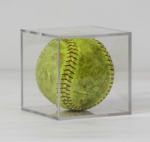 Softball Display Case. Softball not included