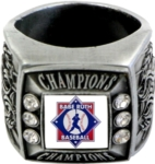 Babe Ruth Baseball Champions Ring