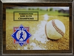 Babe Ruth Sublimated-Direct Full Color Graphic Plaque