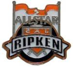 Cal Ripken Baseball All-Star Award Pin. Recognize those special All-Star players with this full color enamel trading pin including the Exclusive Trademarked Officially Licensed Cal Ripken Baseball Logo! Available here ONLY!