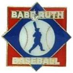 Babe Ruth Baseball Trademarked Logo Trading Pin.  Show your organization affiliation with this full color enamel trading pin.  A great way to display your true colors Exclusive Trademarked Officially Licensed League Logo!  Available here ONLY!